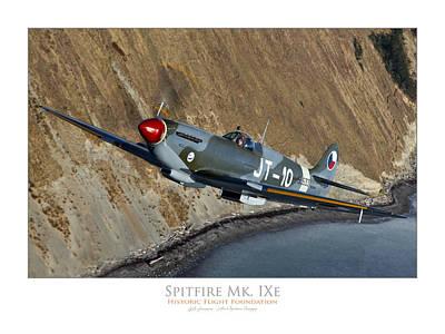 Photograph - Historic Flight Spitfire by Lyle Jansma