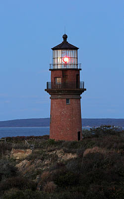 Photograph - Historic Gay Head Light by Juergen Roth