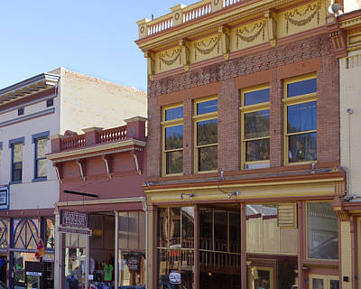 Photograph - Historic Georgetown Colorado by Ann Powell
