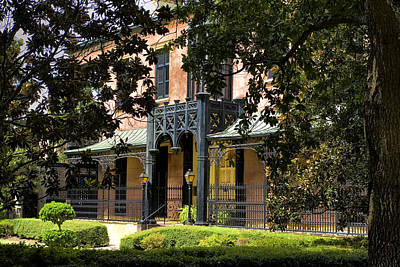 Historic Green-meldrim House Art Print by Diana Powell