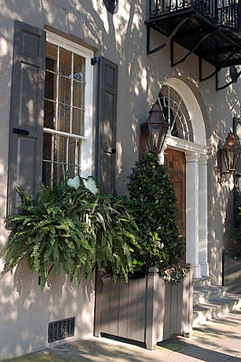 Historic Home - Charleston Art Print by Suzanne Gaff
