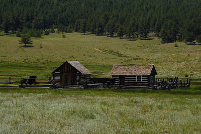 Photograph - Historic Homestead by Scott Sanders