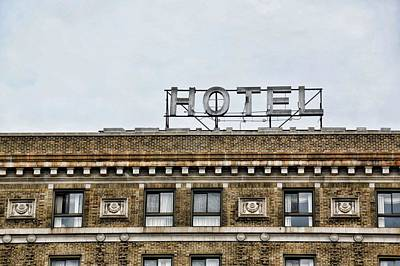 Photograph - Historic Hotel Bethlehem by JAMART Photography