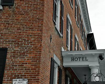Photograph - Historic Hotel by JAMART Photography