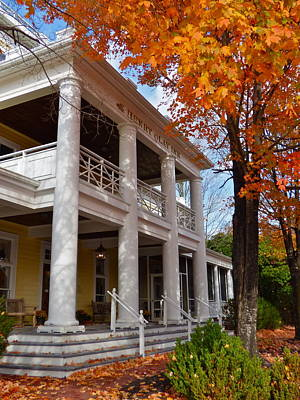 Historic Inn In Ashland Va Art Print
