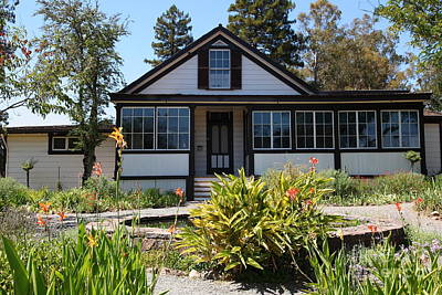 Photograph - Historic Jack London Cottage And Garden In Glen Ellen California 5d24556 by Wingsdomain Art and Photography