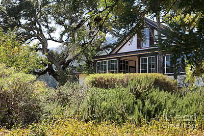 Photograph - Historic Jack London Cottage And Garden In Glen Ellen California 5d24570 by Wingsdomain Art and Photography