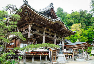 Photograph - Historic Japanese Temple by David Hill