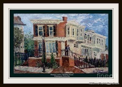 Historic Louis Redding House Art Print
