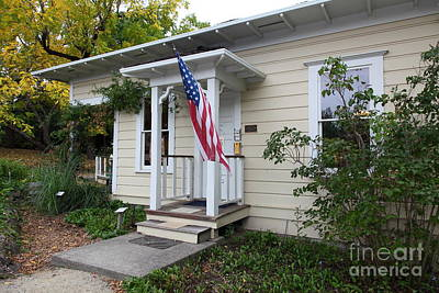 Historic Luther Burbank Cottage And Farm Sebastopol California 5d25923 Art Print by Wingsdomain Art and Photography