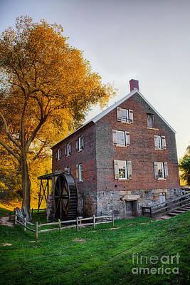 Historic Mill - Kerr Mill I Art Print by Dan Carmichael