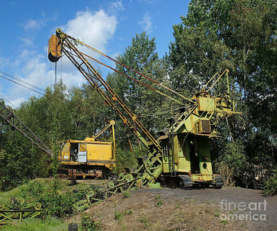 Photograph - Historic Mining Machines 1 by Rudi Prott