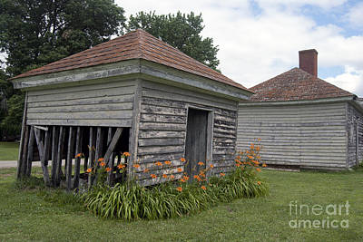 Photograph - Historic Outbuildings by Leslie Cruz