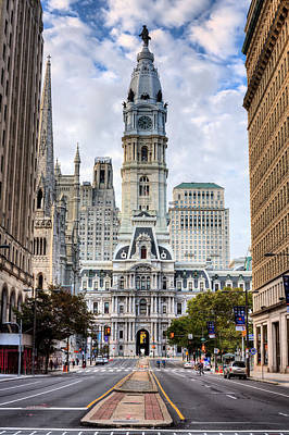 City Hall Photograph - Historic Philly by JC Findley