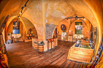 Photograph - Historic Powder Magazine by Dale Powell