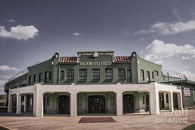 Photograph - Historic Rickwood Field by Ken Johnson