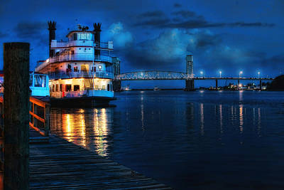 Historic Riverfront Art Print by Rafe Martin