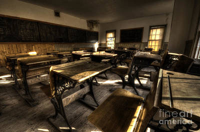 Bannack Ghost Town Photograph - Historic School Bannack Montana 2 by Bob Christopher