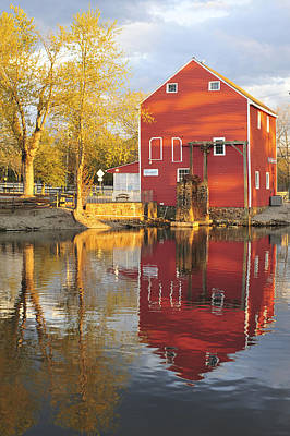 Historic Smithville Shop New Jersey Art Print by Terry DeLuco