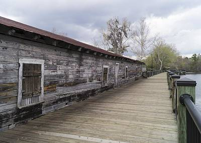 Photograph - Historic Steamer Terminal On The Waccamaw River by MM Anderson