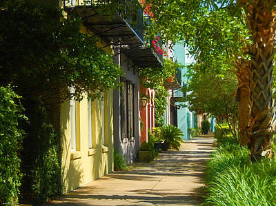 Photograph - Historic Streets Urban Charleston South Carolina by Schwartz Nature Images