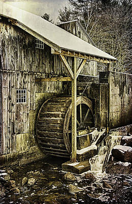 Historic Taylor Mill Art Print by Betty Denise