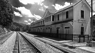 Thurmond Wall Art - Photograph - Historic Thurmond Depot by Thomas R Fletcher