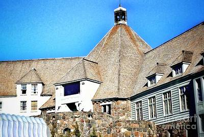 Photograph - Historic Timberline Lodge by Susan Garren