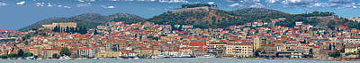 Photograph - Historic Town Of Sibenik Panorama by Brch Photography