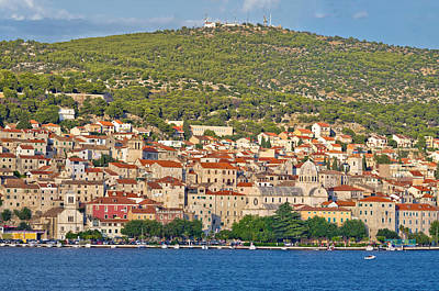 Photograph - Historic Town Of Sibenik Waterfront by Brch Photography