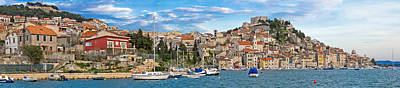Photograph - Historic Town Of Sibenik Waterfront Panorama by Brch Photography