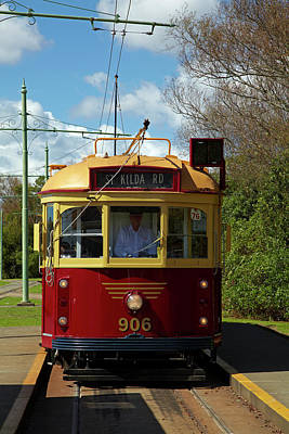 Historic Tram, Motat (museum Art Print