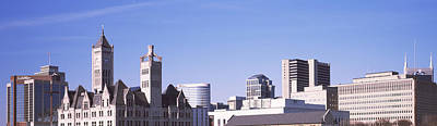 Downtown Nashville Photograph - Historic Union Station Hotel by Panoramic Images