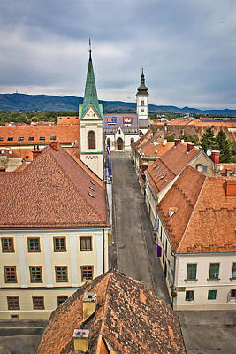 Photograph - Historic Upper Town In Zagreb by Brch Photography