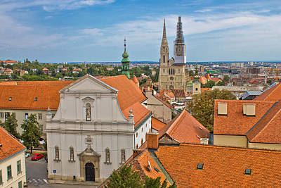 Photograph - Historic Upper Town Of Zagreb by Brch Photography