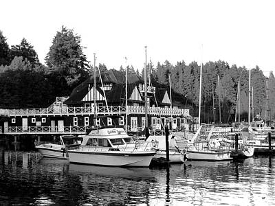 Photograph - Historic Vancouver Rowing Club by Will Borden