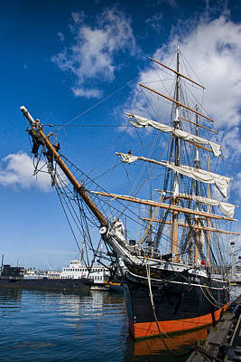 Star Of India Photograph - Historical Boat The Star Of India by Randall Nyhof