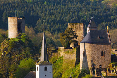 Luxembourg Photograph - Historical Buildings In A Town by Panoramic Images