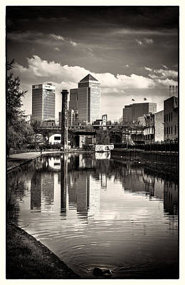 Photograph - Historical Canal Mile End by Lenny Carter