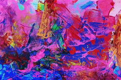 Perhaps Painting - Century Twenty One by Bruce Combs - REACH BEYOND