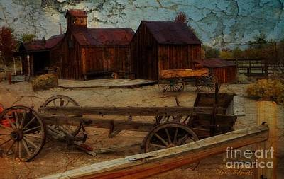Photograph - Historical Ferretto Ranch by Bobbee Rickard