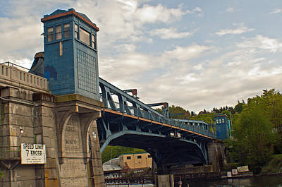 Photograph - Historical Fremont Drawbridge  by Tikvah's Hope