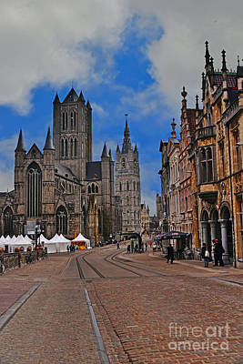 Photograph - Historical Ghent by Elvis Vaughn