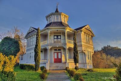 Photograph - Historical Parrott Mansion by Tyra  OBryant