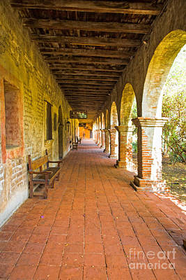 Photograph - Historical Porch by Ronald Lutz