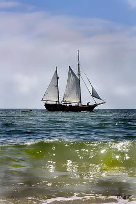 Photograph - Historical Sailboat by Debra Forand