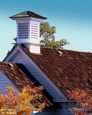Photograph - Historical School Rooftop by Bobbee Rickard