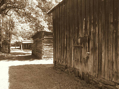 Photograph - Historical Tobacco Barns Nc Usa by Kim Galluzzo Wozniak