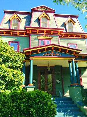 Photograph - Historical Victorian by Becky Lupe