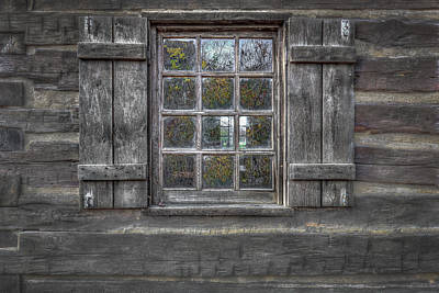Photograph - Historical Window by Peter Lakomy